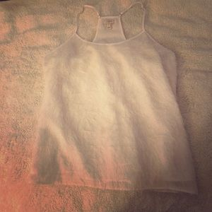 J Crew Furry Cream Cami